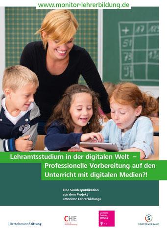 """Die aktuelle Ausgabe des """"Monitors Lehrerbildung"""""""