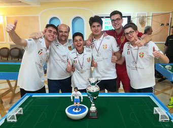 Il Messina Table Soccer Campione d'Italia Juniores
