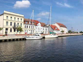 Stadthafen Ueckermünde, Stettiner Haff