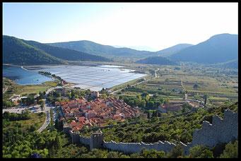 Dalmatie, Croatie, voyage à vélo