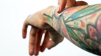 Tattoo Pflege