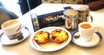Kaffeetrinken in Lissabon / Portugal