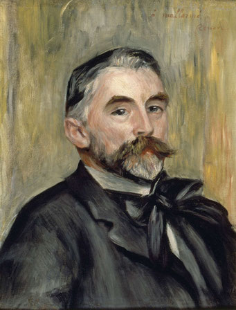 Mallarmé par Renoir