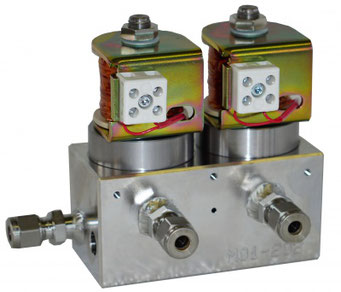 Kunden Spezialventil für Umgebungstemperatur von bis zu  250 °C / custom special valve for operating temperature of up to 250°C