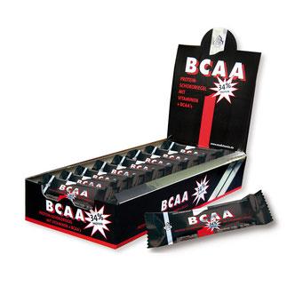 BCAA Proteinriegel für den schnellen, nachhaltigen Muskelaufbau Protein Eiweiß Aminosäuren Vitamine Fitnessstudio Kraftsport Bodybuilding Medichemia Qualität