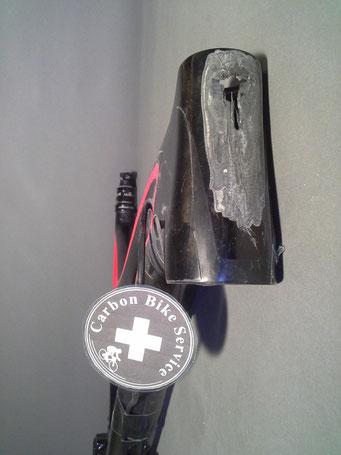 Steuerrohr Carbon Bike Reparatur