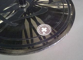 Lightweight Carbondisc Bremflanke Reparatur