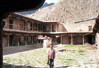 hier wurden viele tausend Mönche unterrichtet