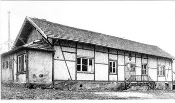 Die alte Turnhalle des Turnerbunds (1935-1975)