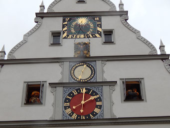 マイスタートゥルンクの仕掛け時計