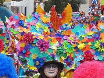 Vélez Malaga Carnaval colours