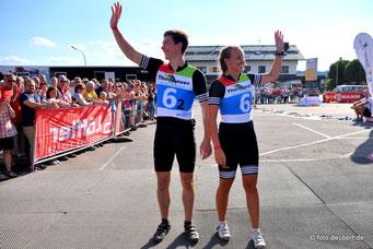 Justus Strelow und Julia Aurich