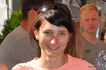 Juliane Frühwirt bei der Race Night 2.0 in Bodenmais