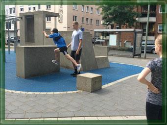 Foto: Zur Verfügung gestellt vom Spunk Gelsenkirchern - Training im  Carl Mosterts Park