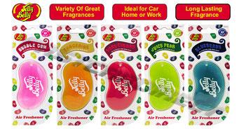 Jelly Belly Lufterfrischer fürs Auto - Last Minute Geschenk-Idee