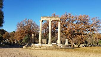 Il sito archeologico di Olympia