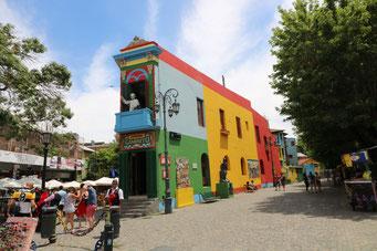 Buenos Aires: il Caminito al Quartiere La Boca