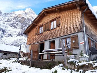 Kalt und wunderschön: Erste Wintertage sorgten schon für Schnee auf der Musenalp.