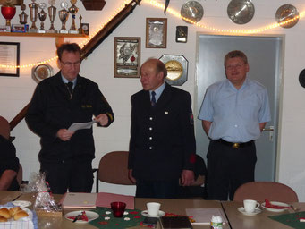 Ehrung Feuerwehr Lüdorf Guido Eul-Jordan Horst Buchholz