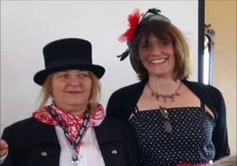 Claudia and Claudia or Laurel and Hardy :-)