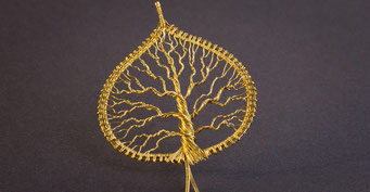 Filigarna Lebensbaum tree of life Wirewrapping handmade in Erlangen