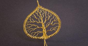 Filigarna Lebensbaum tree of life Wirewrapping handmade in Erlangen, auch für Nürnberg, Bamberg, Forchheim und Umgebung