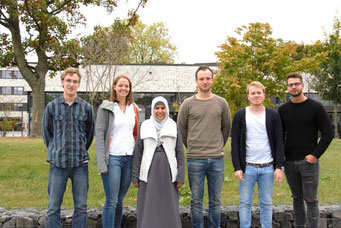 Marian Harling, Katrin Gehrken, Ikram Zaoui, Rene Pascal Müller, Markus Butterschlot, Marcel Dornheim, Demut Kilicaslan
