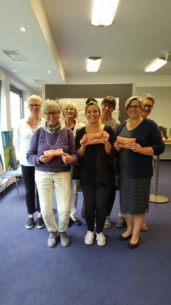 von links Gabriele Christiane Frey, Rukin Tatli, Felicitas Dörr-Backes