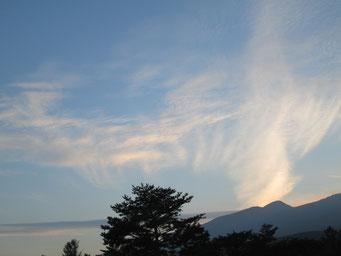 蔵王高原の朝