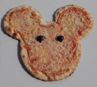 Pizza en forme amusante pour les enfants faite à CCPizza