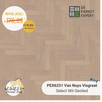 PEX6251 Van Nuys Select Wit Geolied