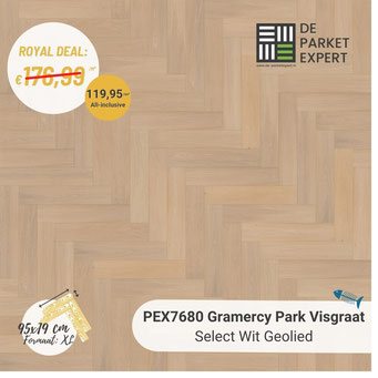 PEX7680 Gramercy Park Select Wit Geolied