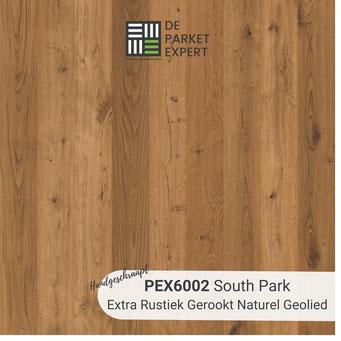 PEX6002 South Park Extra Rustiek Gerookt Naturel Geolied Hand Geschraapt