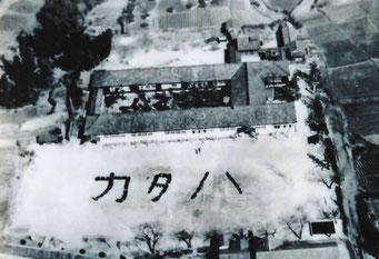片葩小学校 航空写真