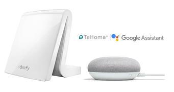 Somfy Smart-Home Google Assistant