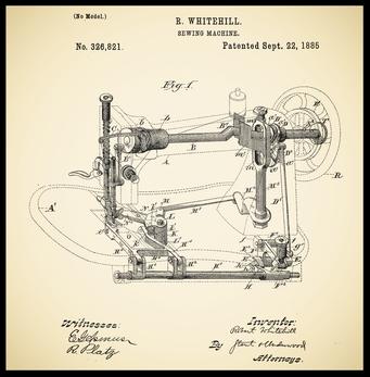 Whitehill's patent US 326.821