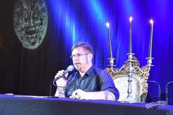 Markus Heitz, M'era Luna-Festival 2018 / Foto: Dunkelklaus