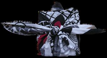 Friedensreich Hundertwasser Furoshiki Tuch (Japanische Verpackungsbündel)