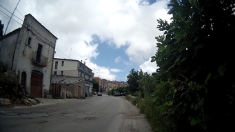 Dorf Nationalpark Gargano Apulien Italien