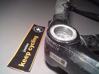 Tretlagergewinde BSA Reparatur