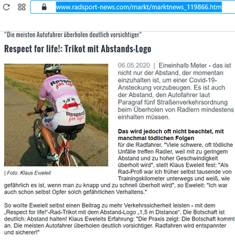 Artikel in www.rRadsport-news.com