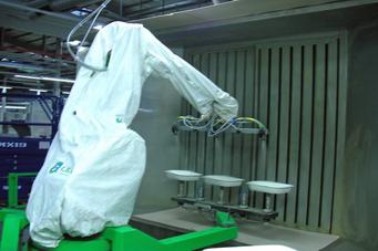 Housse de protection pour robot de peinture sur mesure hdpr