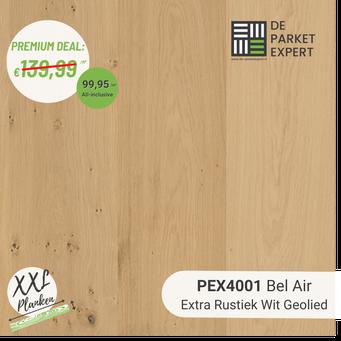PEX4001 Bel Air Extra Rustiek Wit Geolied