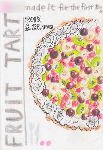 fruit tart (2015.8)