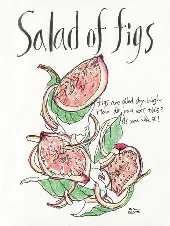 salad of figs