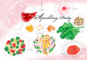 【sparkling party】(2015.8)