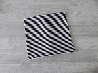 Wendeseite Streifen schwarz-weiß