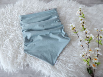 Lieloop Dreiecksloop Wendeseite in dusty mint