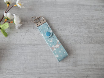 Schlüsselband Füchse blau