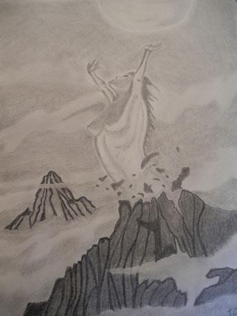 """Intitulé : """"Lucifer fait femme""""  NB : Un destin gravé dans le marbre ......"""